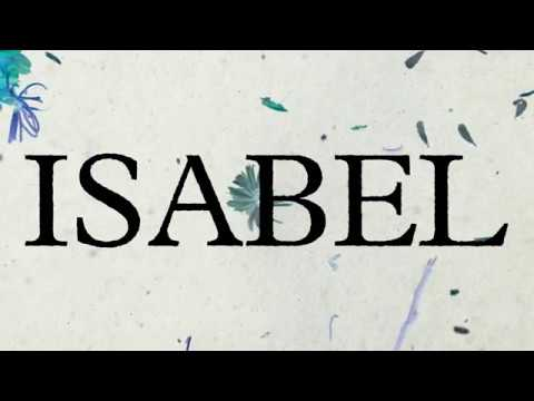 Letra Isabel Elefantes