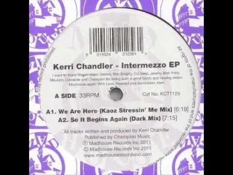 Kerri Chandler - Red Lights - Madhouse Records, Inc. KCT 1125