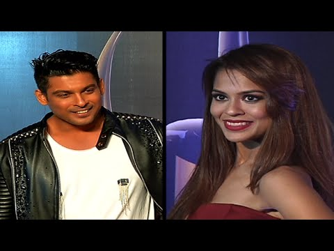 Sana Sayad and Sidharth Shukla at Golden Patel Awa