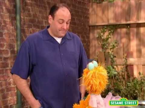 Tony Soprano on Sesame Street