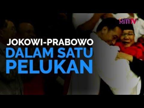 Jokowi-Prabowo Dalam Satu Pelukan