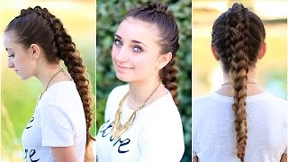 The Dragon Braid | Cute Girls Hairstyles
