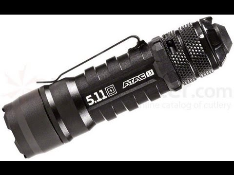 tactical light - (5.11 ATAC L1 Tactical Flashlight) STROBE WARNING If your eyes are sensitive to strobe you might want to turn away when I demo this flashlight in my haul way...
