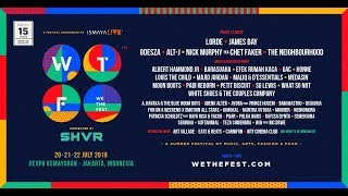 WE THE FEST 2018 - #WTF18 Phase 2 Lineup