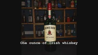 Drink of the Week, Just in time for St. Patrick's Day:  The Nutty Irishman