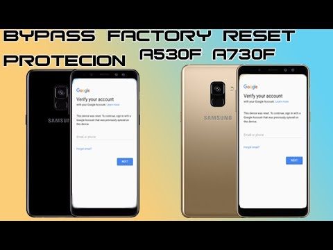 FRP 2018 SAMSUNG GALAXY A8 A8+ PLUS HOW TO BYPASS GOOGLE ACCOUNT