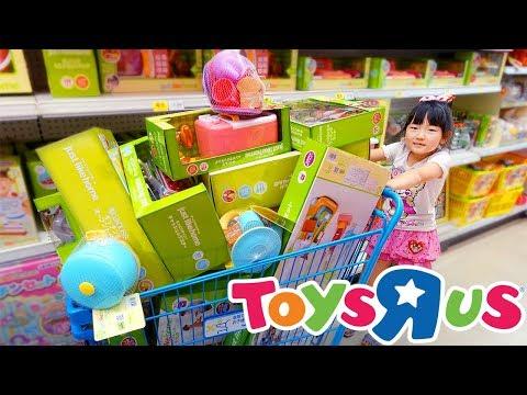リアルおもちゃお買い物ごっこ!アンパンマンおもちゃを買いに行 …