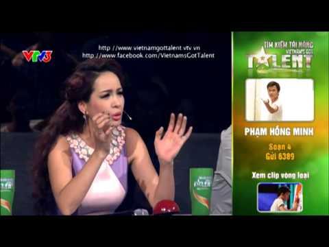 Vietnam's Got Talent 2012 – Bán Kết 3 – Phạm Hồng Minh – MS: 4