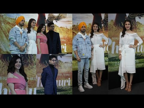 Press Meet With Anushka Sharma & Diljit Dosanjh For Their Film Phillauri