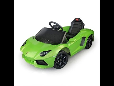 Lamborghini Aventador Kids 6v Electric Ride On Toy Car W Parent Remote Control  photos