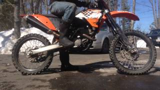 4. 2008 KTM SX-F 250 Starting after New Motor