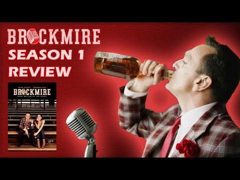 Brockmire Season One Review... Baseball Announcer Meltdown!