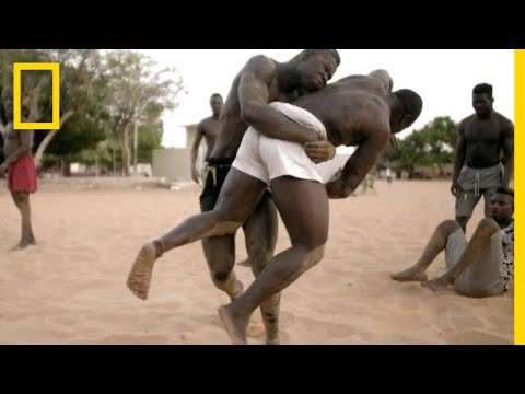 A Senegalese Wrestler Trains to Become the 'King of the Arena' | Short Film Showcase