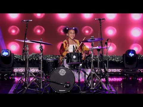 Viral Kid Drummer Rocks the House