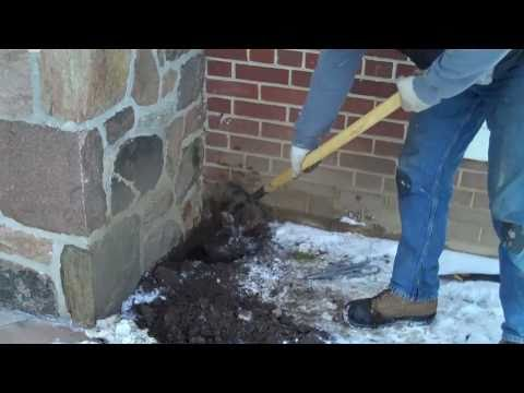 Sealing Up Clay Drainage Tile