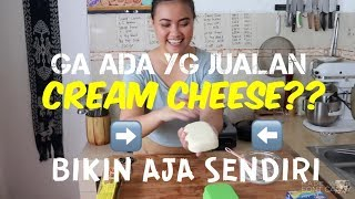 CREAM CHEESE DIBUAT DARI KEJU CHEDDAR OLAHAN (Krim Keju Alternatif) #70