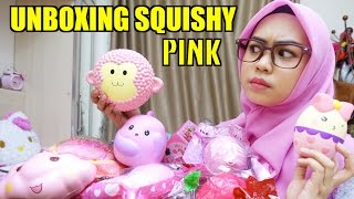 Video UNBOXING SQUISHY PINK - Ria Ricis MP3, 3GP, MP4, WEBM, AVI, FLV Mei 2017