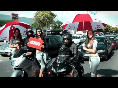 Surprising GIVI Street Marketing action at
