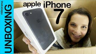 Apple iPhone 7 unboxing en español   4K UHD, iPhone, Apple, iphone 7