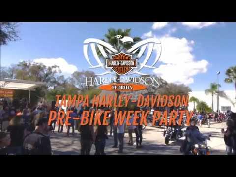 HDFLORIDA - Tampa's 2017 Pre-Bike Week Party!