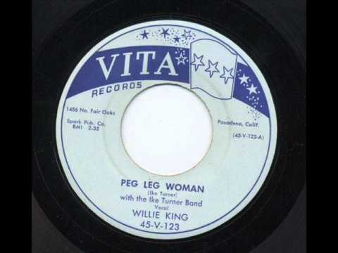 Peg Legged Woman - Rockin' by Ike and the boys 1956.