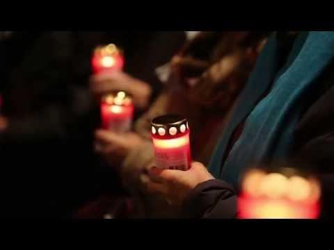 Herdenking Kristallnacht op meerdere plekken in Amsterdam herdacht