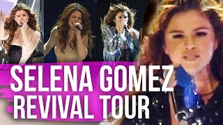 Selena Gomez SEXIEST Looks Revival Tour (Dirty Laundry) by Clevver Style