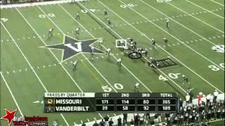 Kony Ealy vs Vanderbilt (2013)