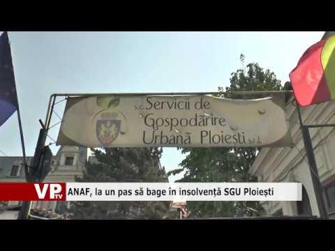 ANAF, la un pas să bage în insolvență SGU Ploiești