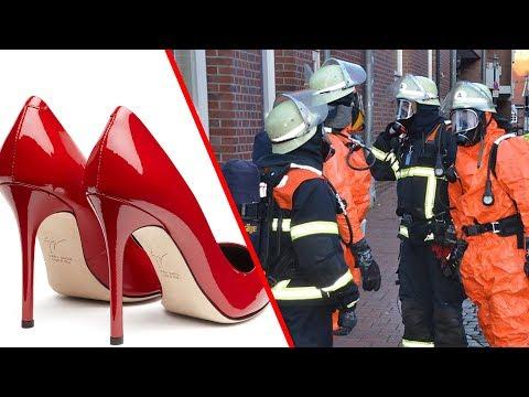 Postfiliale evakuiert - der Grund dafür sind Damenschuhe