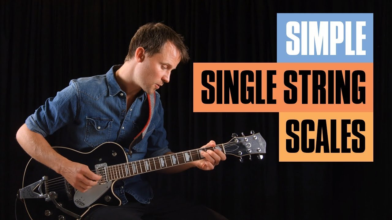 Guitar Scales on One String   Guitar Tricks