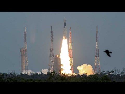H Ινδία εκτόξευσε πύραυλο με προορισμό την Σελήνη