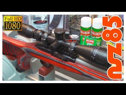 Ruger 10/22 - Scope Mounting (видео)