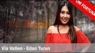 Via Vallen - Edan Turun (Lirik + Translate Indonesia)