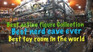 Video Action Figure Collection Best  Nerd Cave Toy Room Review MP3, 3GP, MP4, WEBM, AVI, FLV Juni 2018