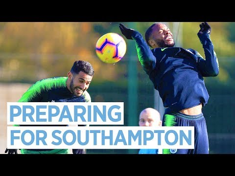Video: CLOSE UP WITH MAN CITY | TRAINING PRE SOUTHAMPTON