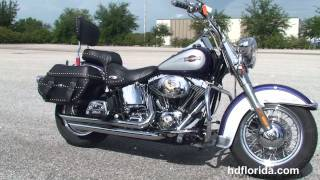 4. Used 2006 Harley Davidson Heritage Softail Classic Motorcycles for sale - Plant City, FL