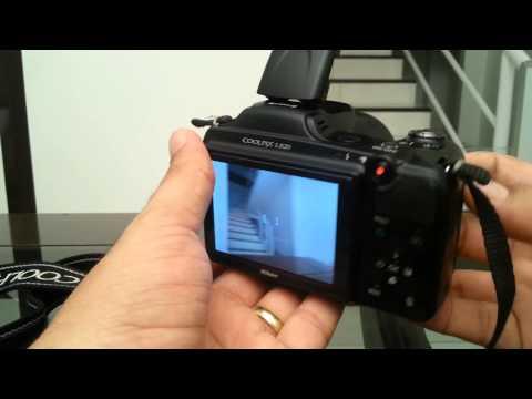 Review Completo Câmera Nikon L820