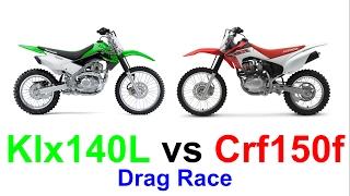 9. Crf150f vs Klx140l