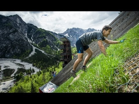 redbull - Click CC for Subtitles! 300 participants had the chance to run the classic athletics distance of 400 meters almost vertically up to the Planica ski jumping h...