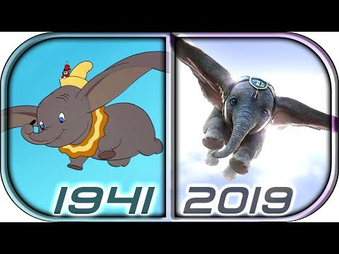 EVOLUTION of DUMBO in Movies Cartoons TV (1941-2019) Dumbo 2019 Full movie trailer movie clip scene