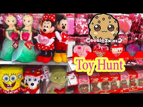 Valentines Day , Christmas Holiday Sale Dollar Tree Toy Hunt Video Cookieswirlc