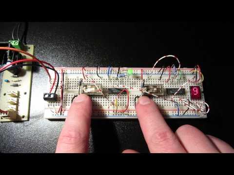 True Random Number Generator TRNG (4-Bit)
