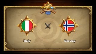 ITA vs NOR, game 1