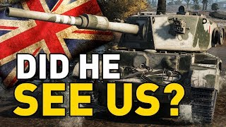 """World of Tanks – Charioteer. I'm discussing the issue of pondering """"Did he see us?"""" And how relocating and using camouflage and view range can win battles!SUBSCRIBE for more videos!: ►https://goo.gl/5VIiJnT-SHIRTS: ►https://goo.gl/s2OINqLIVESTREAMS: Tuesdays, Thursdays and Sundays for 5 hours+ Starting @ 18:00-CET / 17:00-GMT / 12:00-EST►http://www.twitch.tv/quickybabyTwitter ►http://www.twitter.com/quickybabyFacebook ►http://www.facebook.com/quickybabyI'm partnered with G2A, get the latest games at the best prices! ►3% cashback using MY code: ►BABY◀ https://www.g2a.com/r/quickybabyQuickyBaby's FAQ►https://goo.gl/4Mi8wj___World of Tanks is a Free 2 Play online game published by Wargaming and is available as a free download here:https://goo.gl/AcgARAUse invite code """"QUICKYBABY4WOT"""" to get a T-127 with a 100% crew, 500 gold, 7 days premium, and a gun laying drive!"""