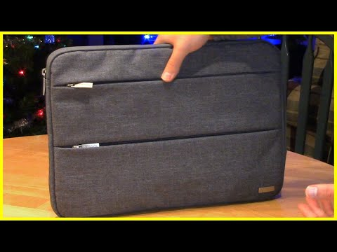 15.6 Inch Laptop Sleeve Review Voova Laptop Case Review