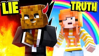 TRUTH OR LIE TROLLING YOUR FRIENDS CHALLENGE! - MINECRAFT MODDED MINIGAME