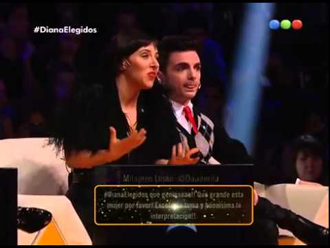 Diana Amarilla canta  Malo –  Elegidos #Elegidos