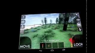 Survivalcraft на Nexus 7