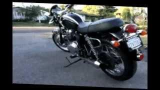 10. 2005 Triumph Bonneville T100 - FOR SALE $6000 - Dominator Exhaust Pipes